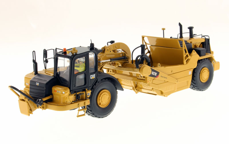 85921 - Diecast Masters Caterpillar 627K Wheel Tractor Scraper High
