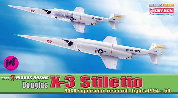 51035 - Dragon Douglas X 3 Stiletto NACA Supersonic