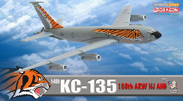 56278 - Dragon KC 135 108th ARW NJ ANG Tiger