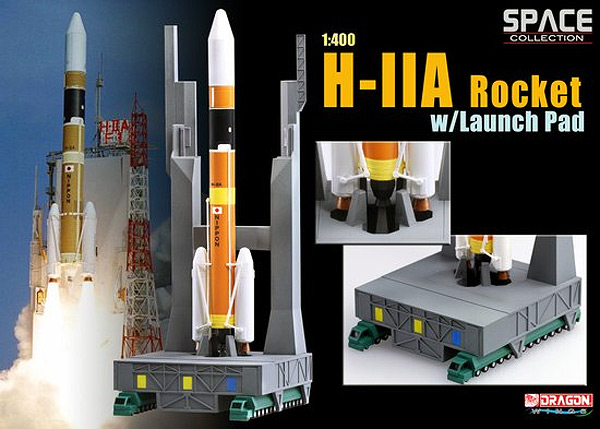 56327 - Dragon H IIA Rocket w_ Launch Pad