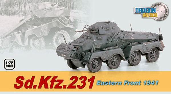60599 - Dragon SdKfz231 Eastern Front 1941