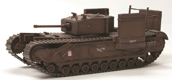 60670 - Dragon Churchill MkIII Tank Fitted