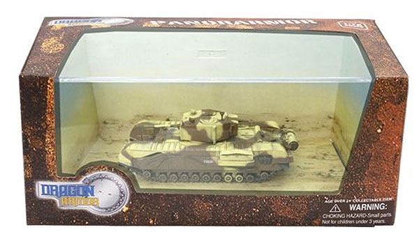 60687 - Dragon Churchill Mk III Tank Tunisia 1943 PanorArmor