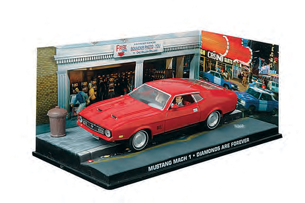 BIM02 - Eaglemoss James Bond Ford Mustang Mach 1