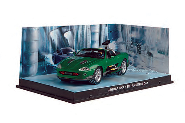 BIM03 - Eaglemoss James Bond Jaguar XXR