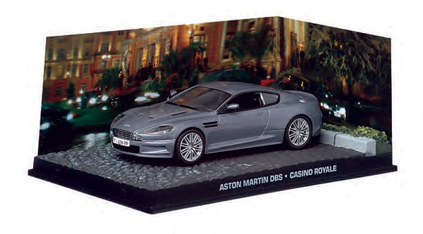 BIM06-X - Eaglemoss James Bond Aston Martin DBS V12