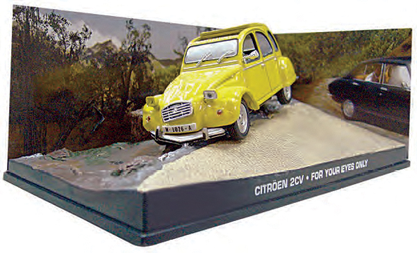 BIM07 - Eaglemoss James Bond Citroen 2CV