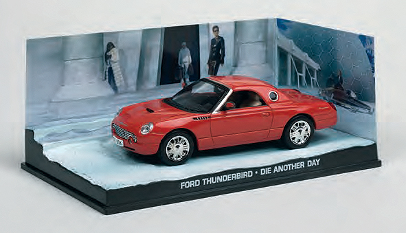 BIM09 - Eaglemoss James Bond Ford Thunderbird