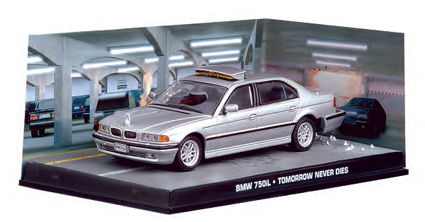 BIM14-X - Eaglemoss James Bond BMW 750iL Tomorrow Never