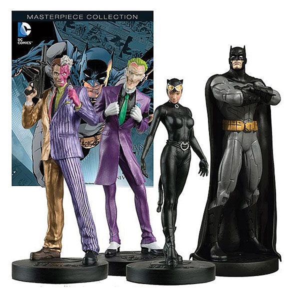 BS01 - Eaglemoss Batman 75th Anniversary Figure Set
