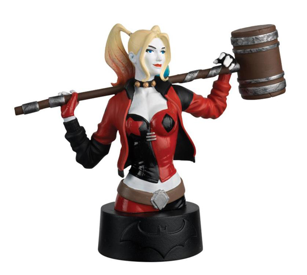 DCBUST03 - Eaglemoss Harley Quinn DC Universe Collectors Bust