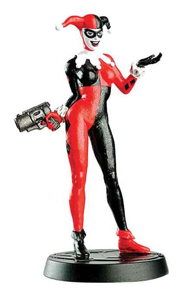 DCC05 - Eaglemoss Harley Quinn DC Comics Super Hero
