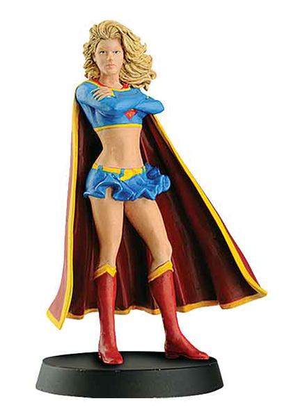 DCC21 - Eaglemoss Supergirl DC Comics Super Hero Collection Officially