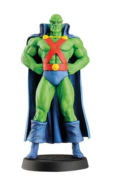 DCC30 - Eaglemoss Martian Manhunter DC Comics Super Hero