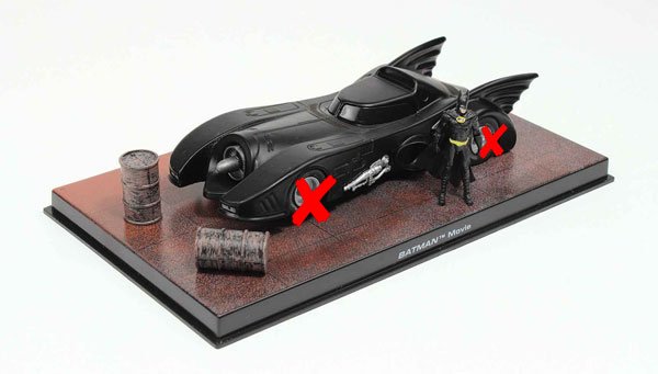 EM-BM001-X - Eaglemoss Batmobile from Batman