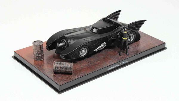 EM-BM001 - Eaglemoss Batmobile from Batman