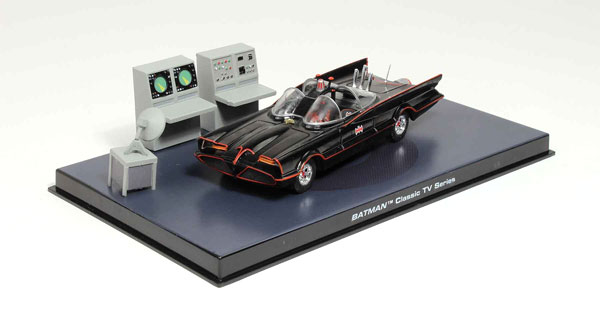 EM-BM002 - Eaglemoss Batmobile from Batman