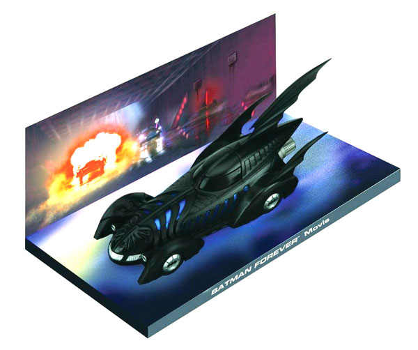 EM-BM004 - Eaglemoss Batmobile from Batman Forever 1995