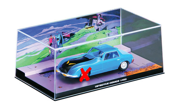 EM-BM005-X - Eaglemoss Batmobile from Detective Comics 400 1970 DRIVERS