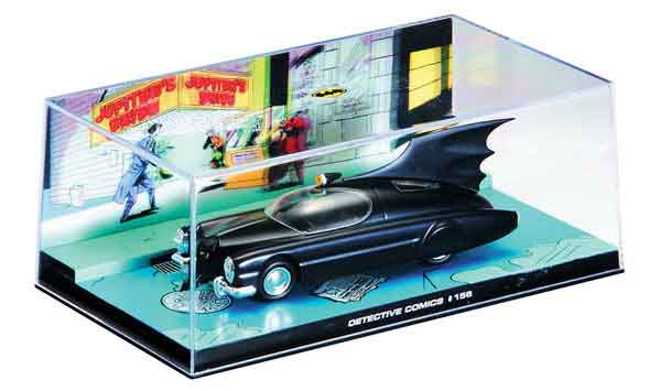 EM-BM006-X - Eaglemoss Batmobile from Detective Comics 156 1950