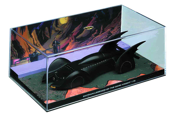 EM-BM025 - Eaglemoss Batmobile from Legends of