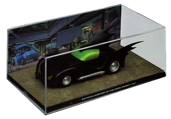 EM-BM032 - Eaglemoss Batmobile from Batman Legends of