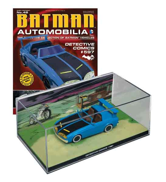 EM-BM048 - Eaglemoss Batmobile from Batman Detective Comics 597