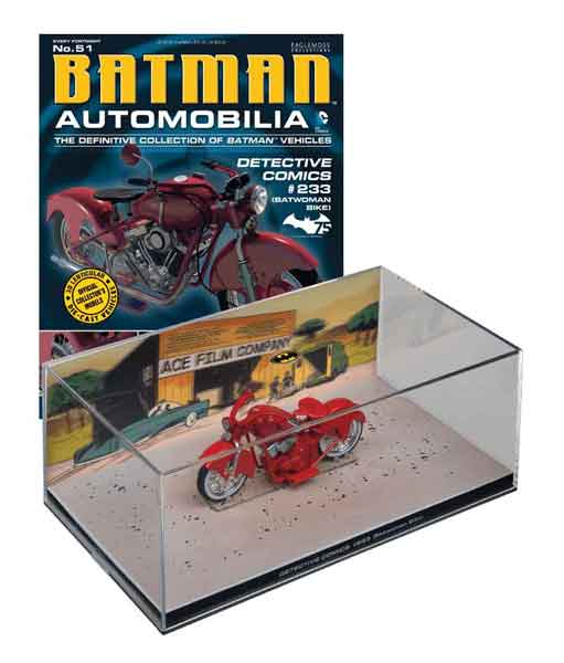EM-BM051 - Eaglemoss Batcycle from Batman Detective Comics 233