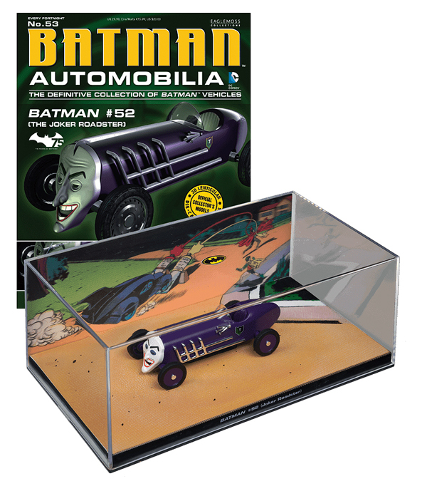 EM-BM053 - Eaglemoss Joker Roadster Batman 52
