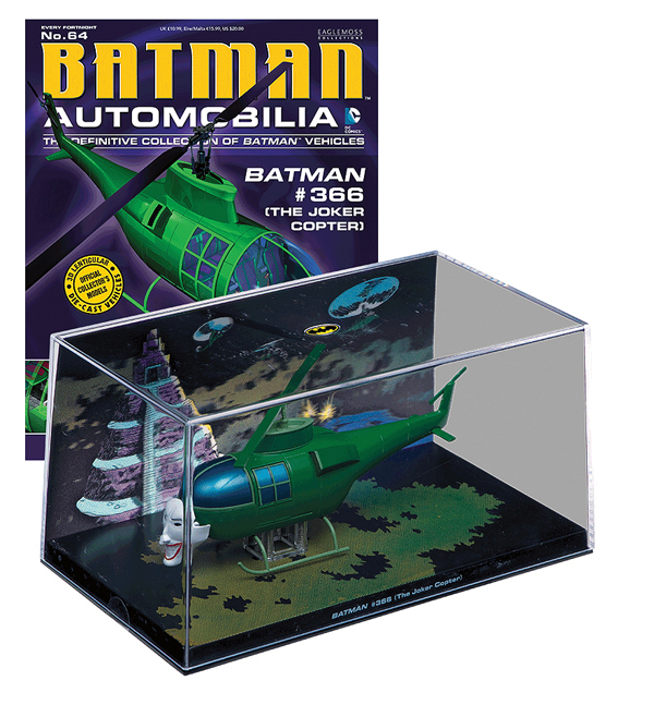 EM-BM064 - Eaglemoss Joker Copter Batman 366