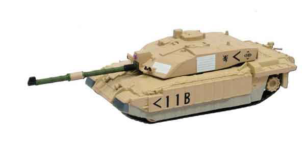 EM-CV005-X - Eaglemoss Challenger 2 Tank Royal Scots Dragoon