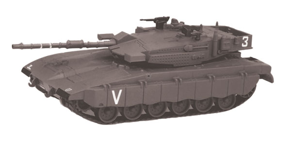 EM-CV011 - Eaglemoss Merkava III Tank Israel Defense Forces