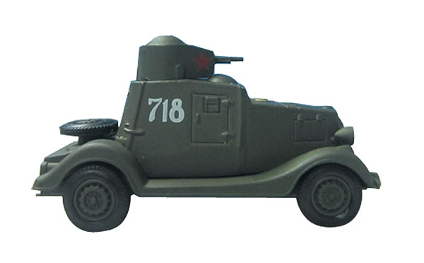 EM-R0056 - Eaglemoss FAI Armoured Car