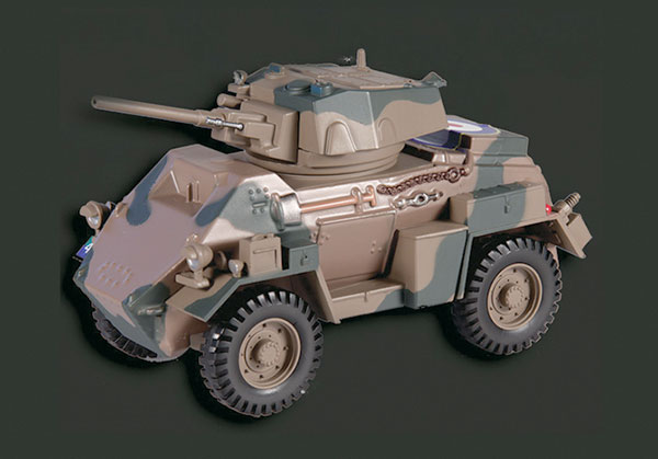 EM013 - Eaglemoss Humber MK IV Armoured Car 8th