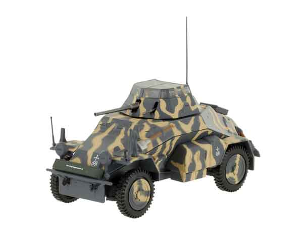 EM030-X - Eaglemoss Sd Kfz 222 Armored Car MODEL