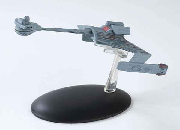 ST07 - Eaglemoss Star Trek Klingon KTinga Class Battlecruiser