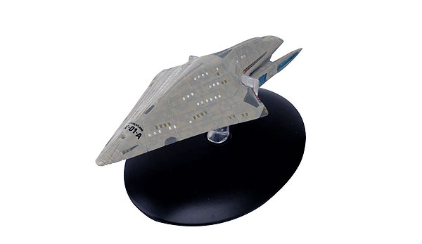 ST17 - Eaglemoss Star Trek USS Dauntless NX 01 A