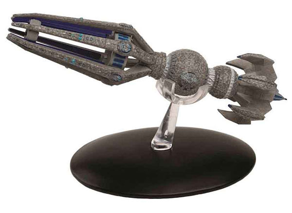ST22 - Eaglemoss Star Trek Krenim Temporal Weapon Ship