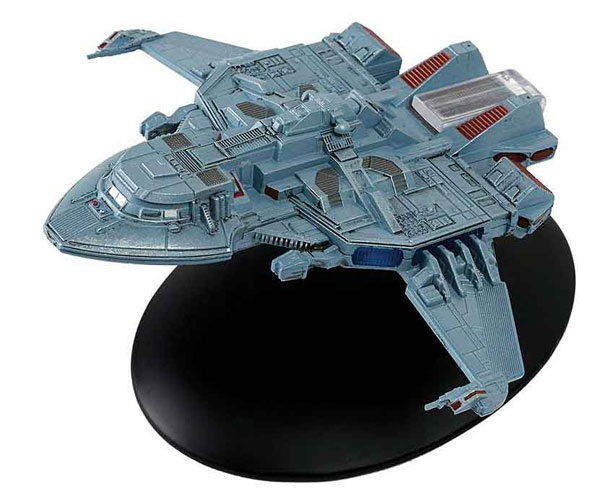 ST28 - Eaglemoss Star Trek Maquis Fighter Star Trek