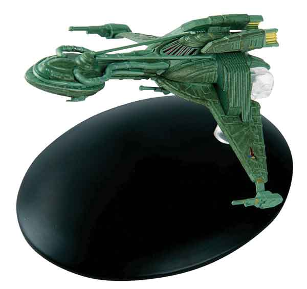 ST35 - Eaglemoss Star Trek Klingon Bird of Prey