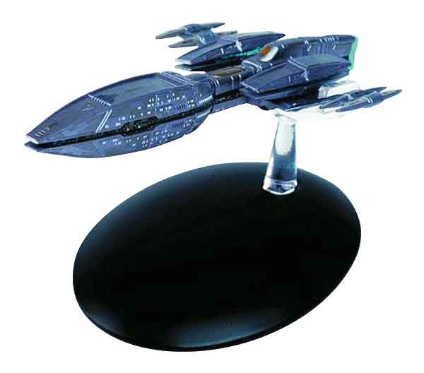 ST37 - Eaglemoss Star Trek Andorian Battle Cruiser Star