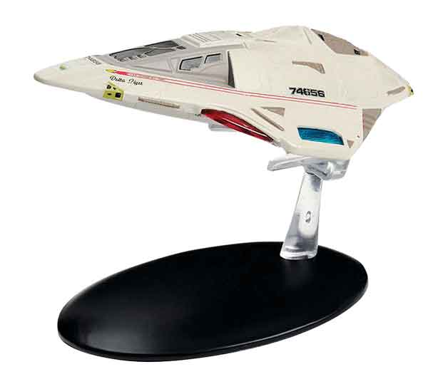 ST38 - Eaglemoss Star Trek Starfleet Delta Flyer Star