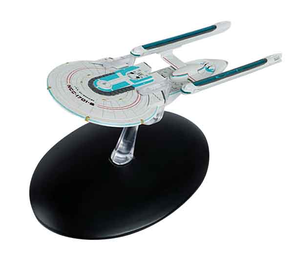 ST40 - Eaglemoss Star Trek USS Enterprise NCC 1701