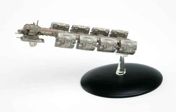 ST49 - Eaglemoss Star Trek ECS Fortunate Cargo Ship