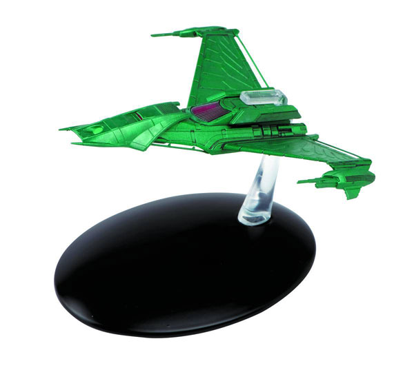 ST53 - Eaglemoss Star Trek Laneths Klingon Attack Ship