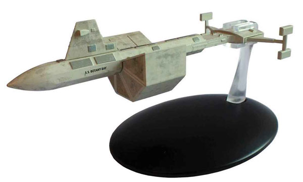 ST60 - Eaglemoss Star Trek SS Botany Bay Star