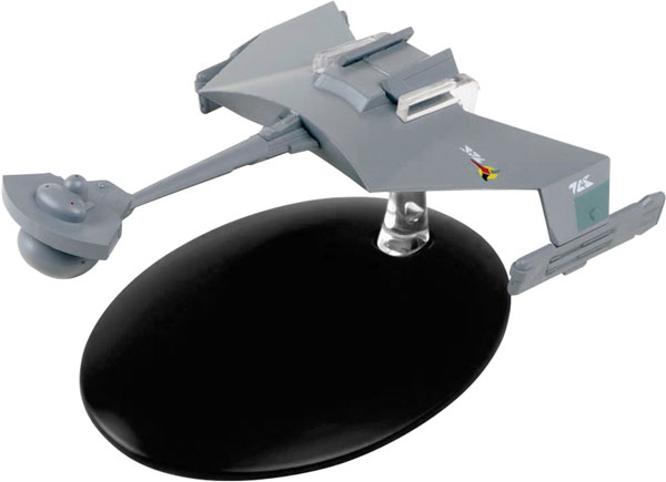 ST67 - Eaglemoss Star Trek Klingon D7 Battlecruiser