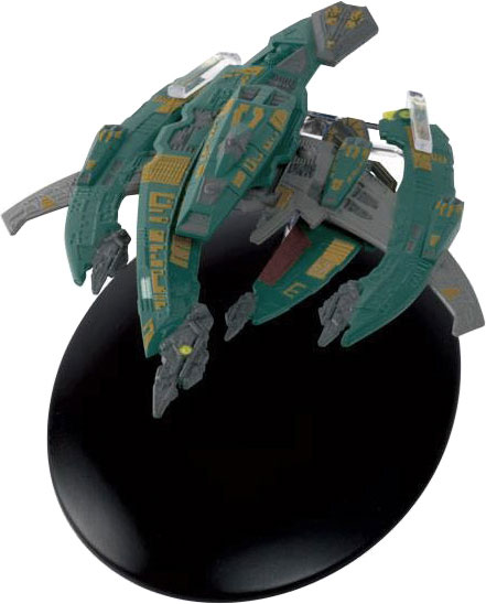 ST69 - Eaglemoss Star Trek Breen Warship Breen Confederacy