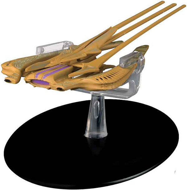 ST81 - Eaglemoss Star Trek Xindi Reptilian Warship Star