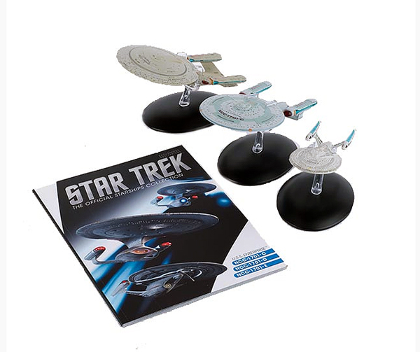 STENTSET1 - Eaglemoss Star Trek Enterprise 3 Piece Set